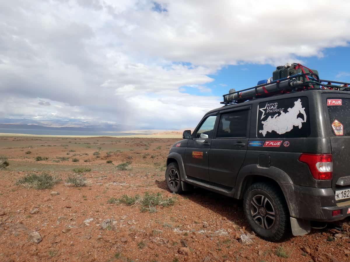 по Монголии на УАЗ Патриот