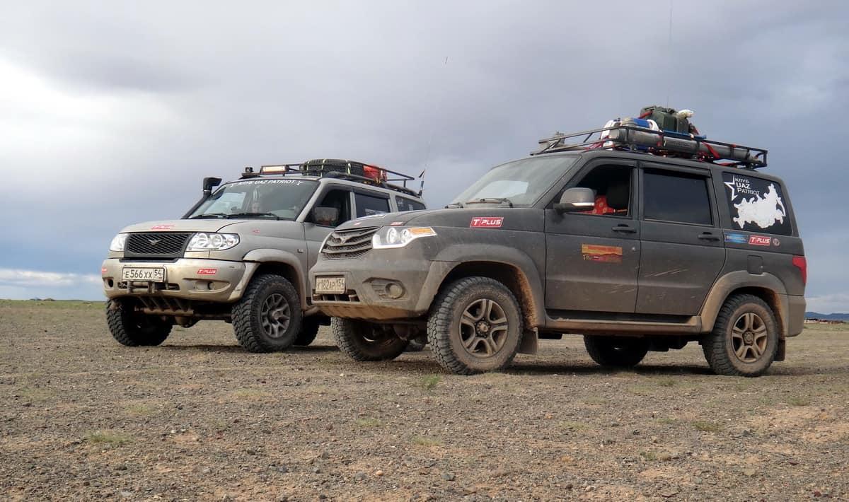 в пустыне Гоби, Монголия