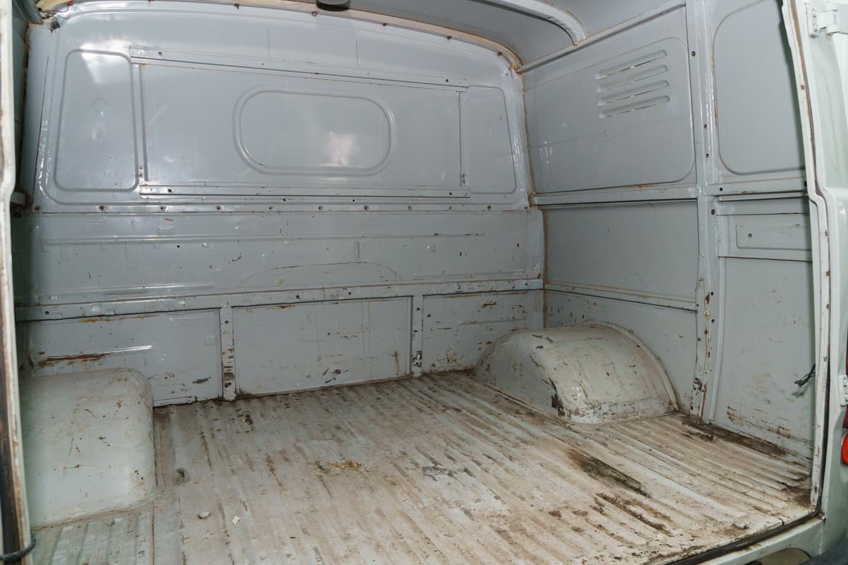 грузовой отсек у УАЗ 390995