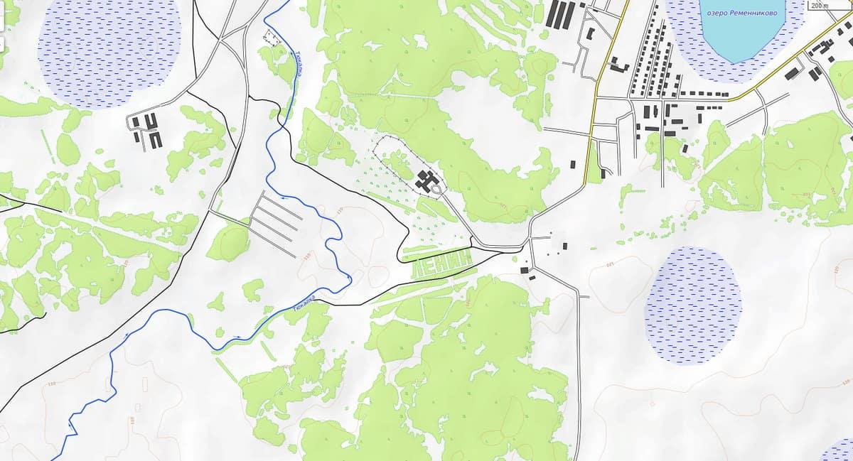 Тюкалинск топография