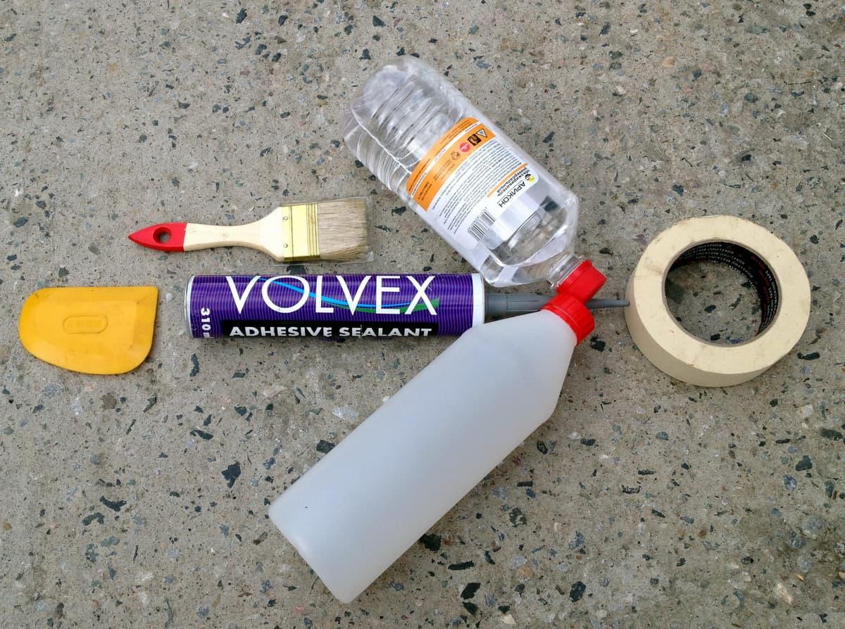 герметизация швов уаз своими руками, необходимые материалы
