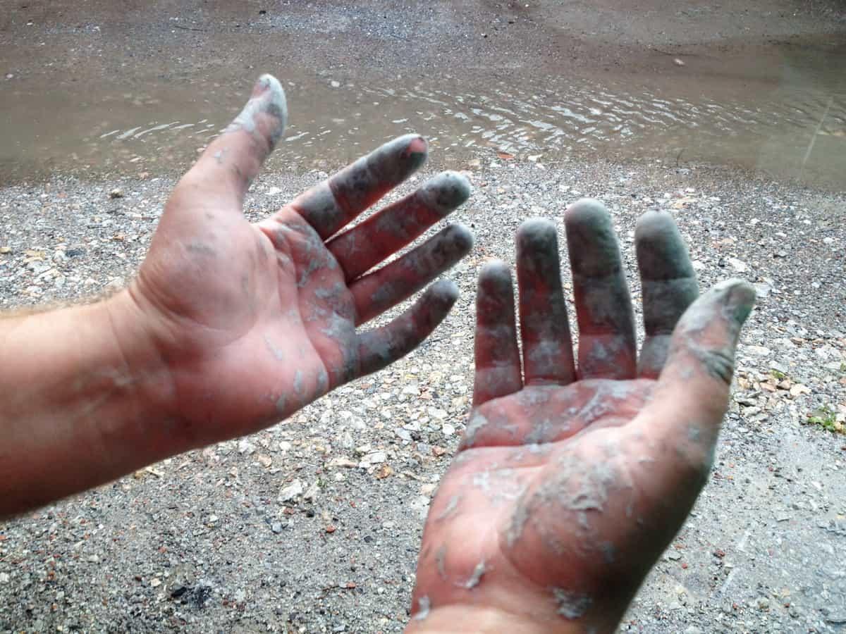 чем отмыть полиуретановый (шовный) герметик