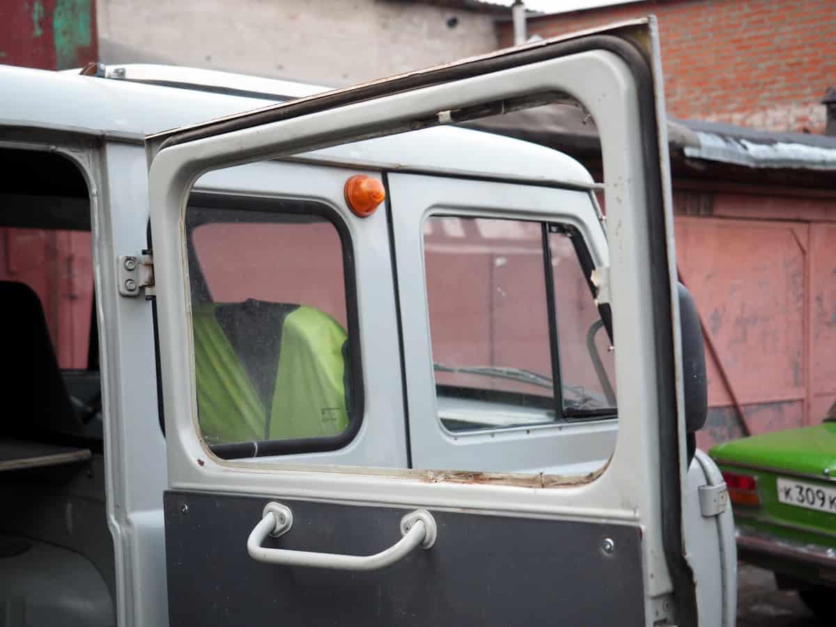 проём, готовый для установки сдвижного окна