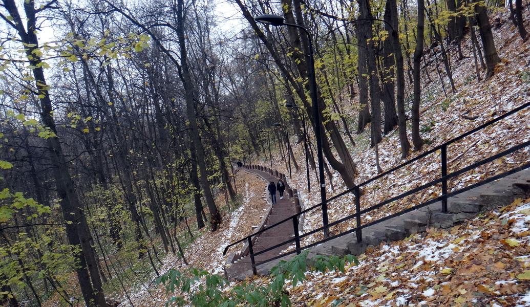 парк воробьевы горы