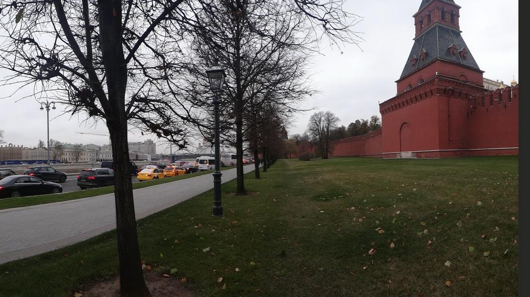 маршрут по москве, кремлевская набережная