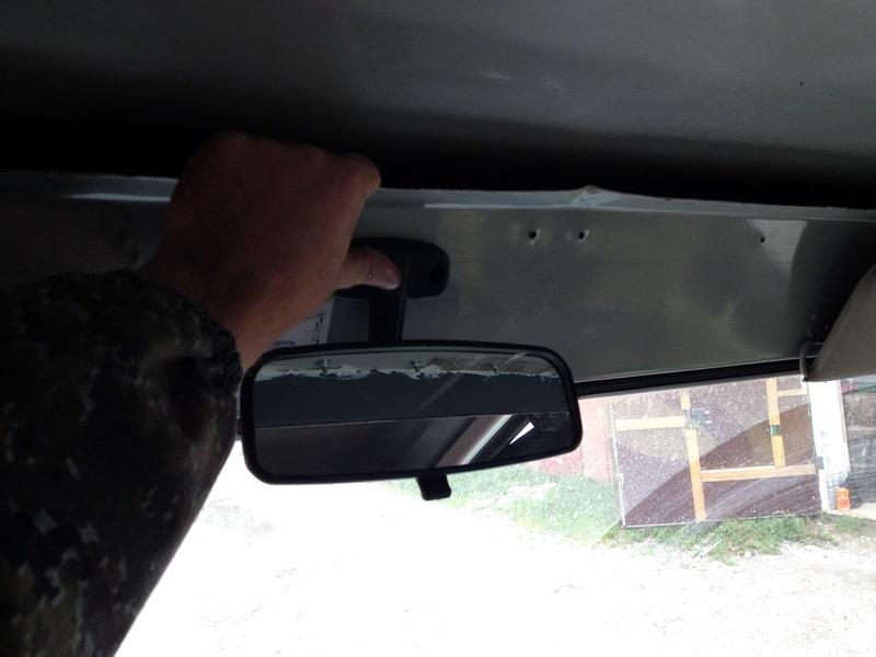 уаз 452 и салонное зеркало заднего вида