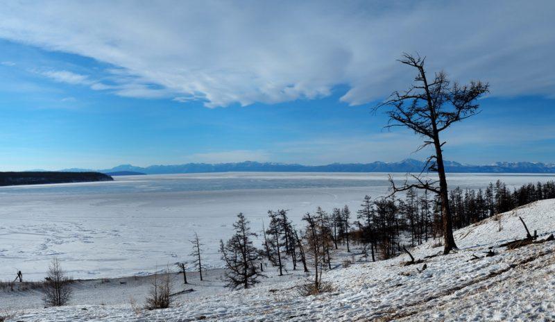озеро Хубсугул зимой
