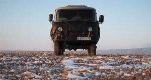 Зимняя Монголия. # 1. Идём на юг, холодает.
