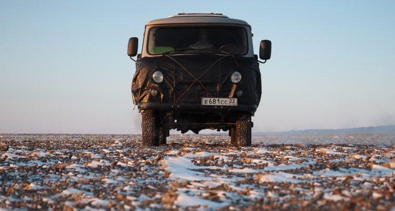 путешественник Алексей Бычков в Монголии