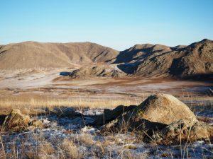 Зимняя Монголия. # 2. Идём на север, теплеет