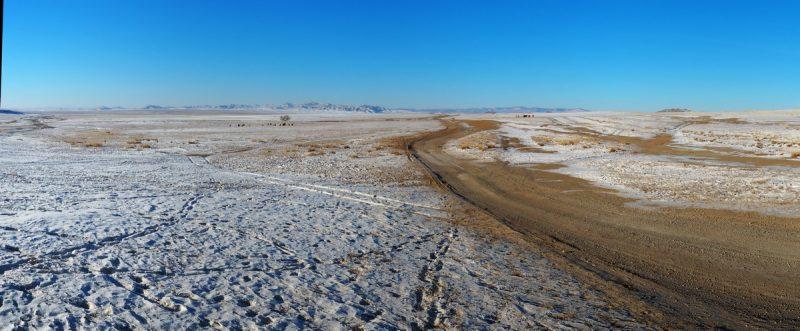 зимнее путешествие по Монголии