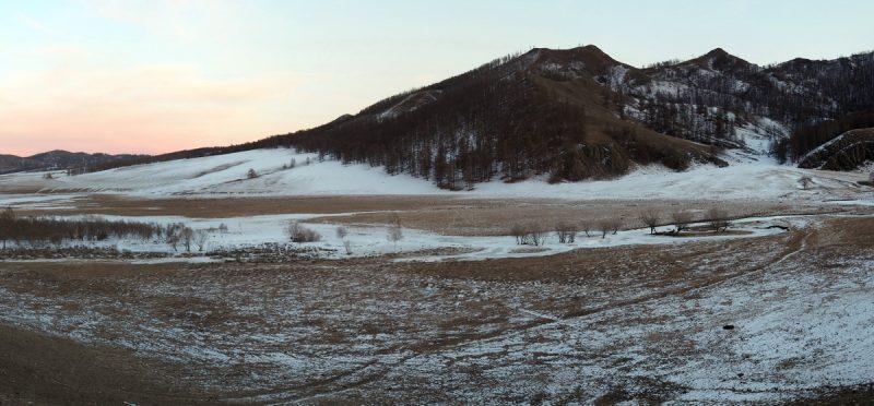 Монголия, пейзаж