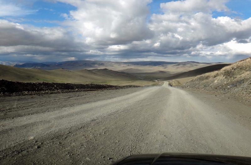 путешествие в Монголии на машине