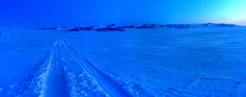 Монголия зимой