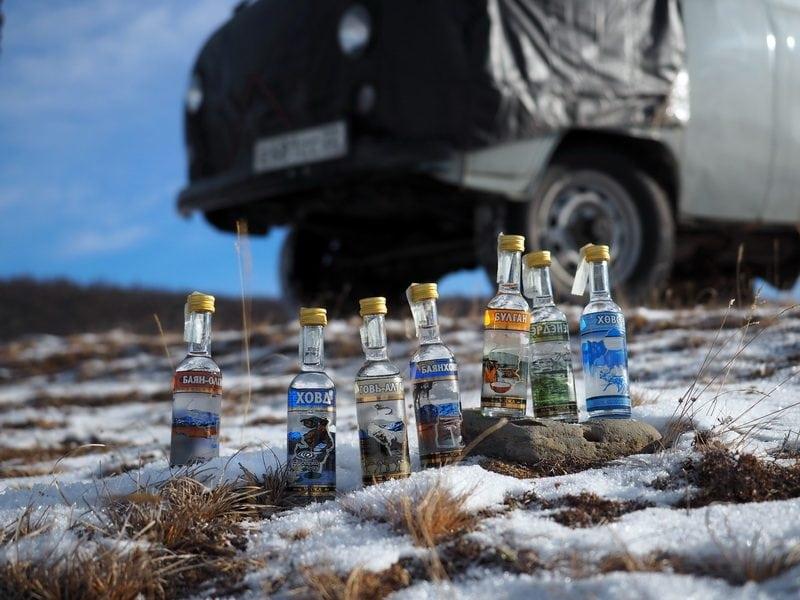 Монголия, водка, сувениры