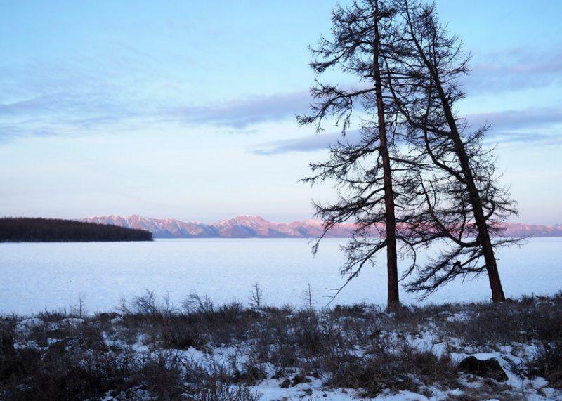 Ховсгол нуур зимой