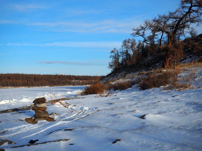 озеро Хубсугул нуур зимой