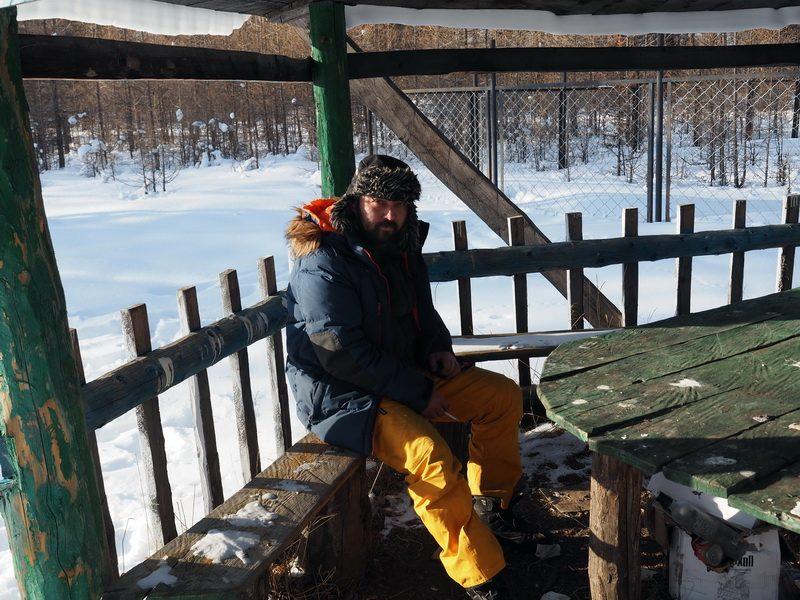 Александр Крохин Krohinzon в Монголии на озере Хубсугул