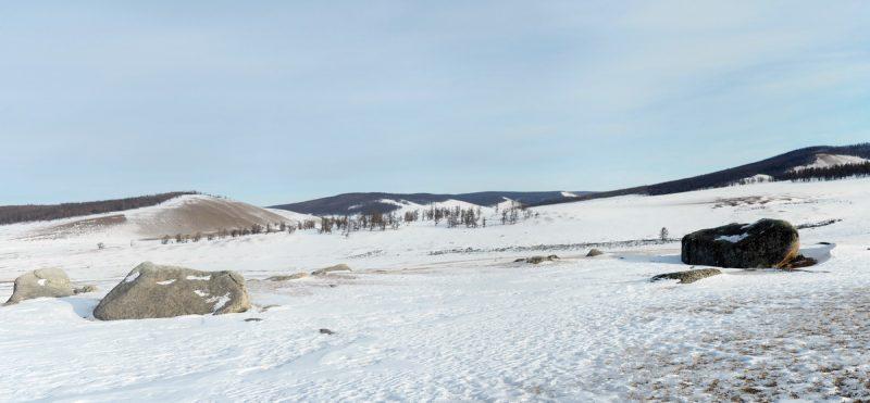 пейзаж на Хубсугуле, landscape on the lake Hovsgol