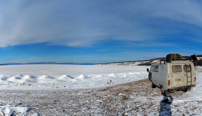 автодом из уаза буханки в путешествии по монголии, motorhome from UAZ 452 in  traveling to mongolia