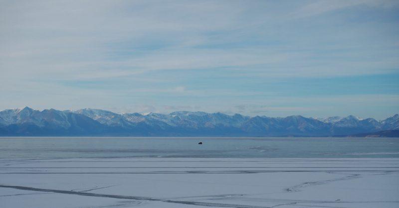дорога по льду Хубсугула