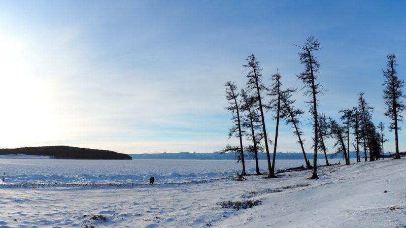 озеро Хубсугул зимой, Lake Khovsgol in winter