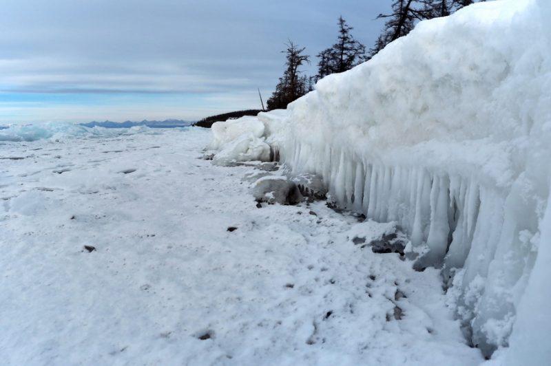 лёд на Хубсугуле