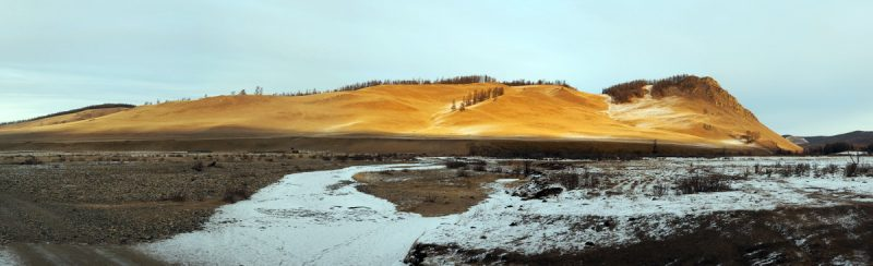 монголия в январе 2019