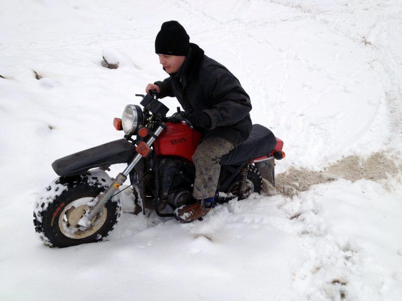 Тула ТМЗ зимой