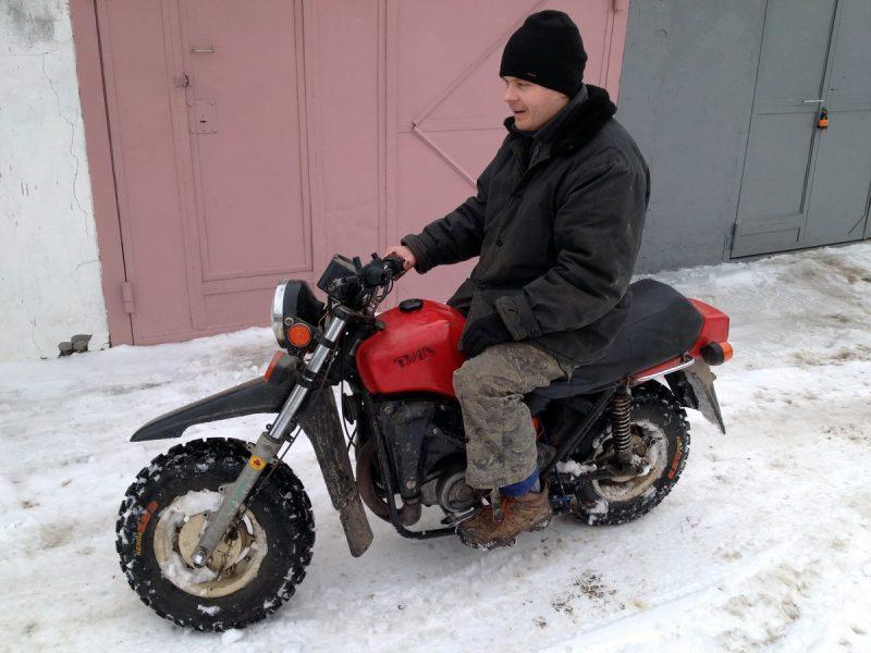 внедорожный мотоцикл Тула ТМЗ с оптическим зажиганием