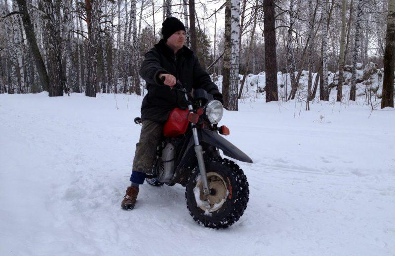 Тула ТМЗ в снегу