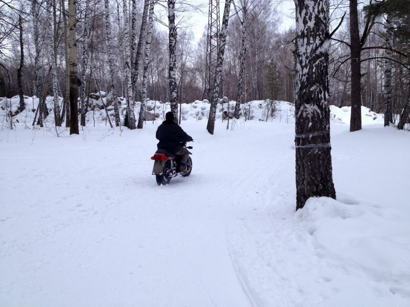 Тула ТМЗ, зима