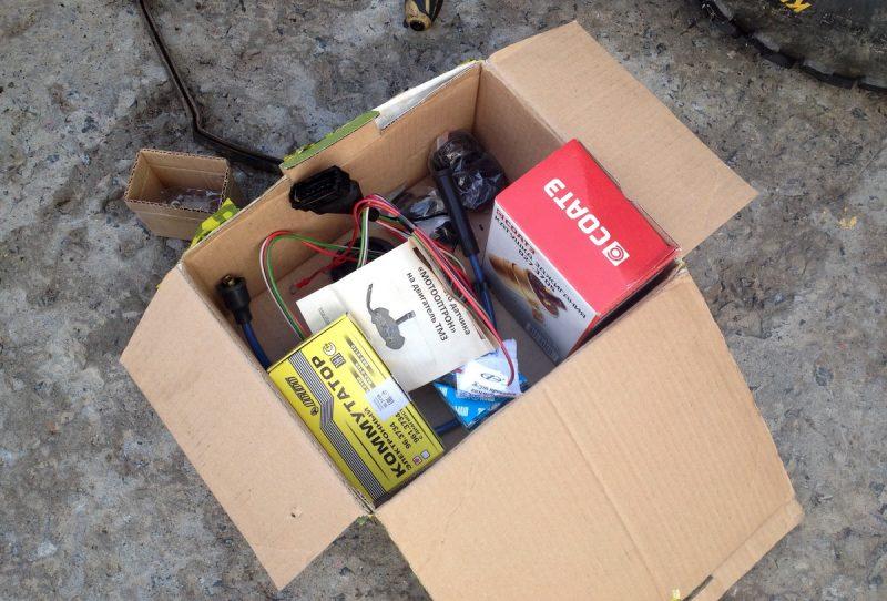 комплект для установки оптического зажигания