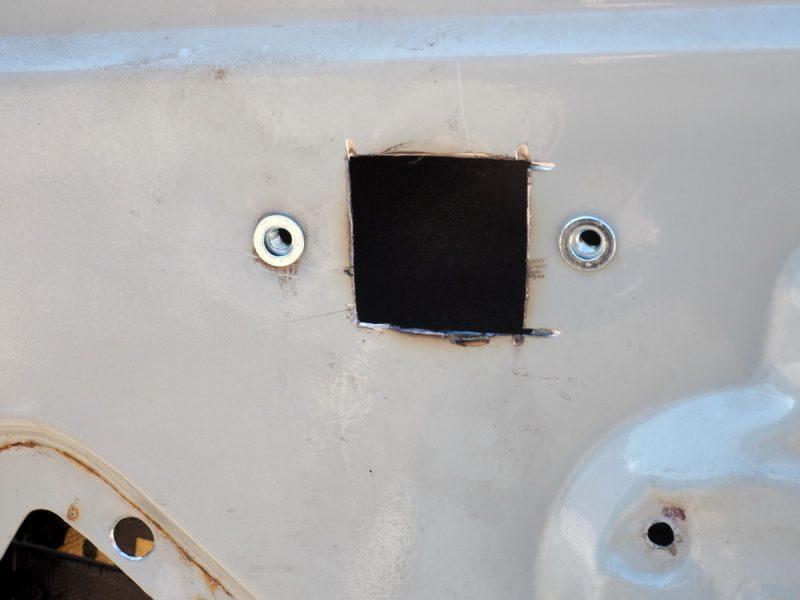 изменение механизма открывания двери