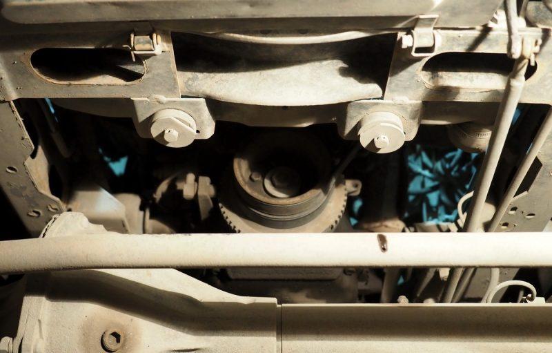 крепление радиатора уаз