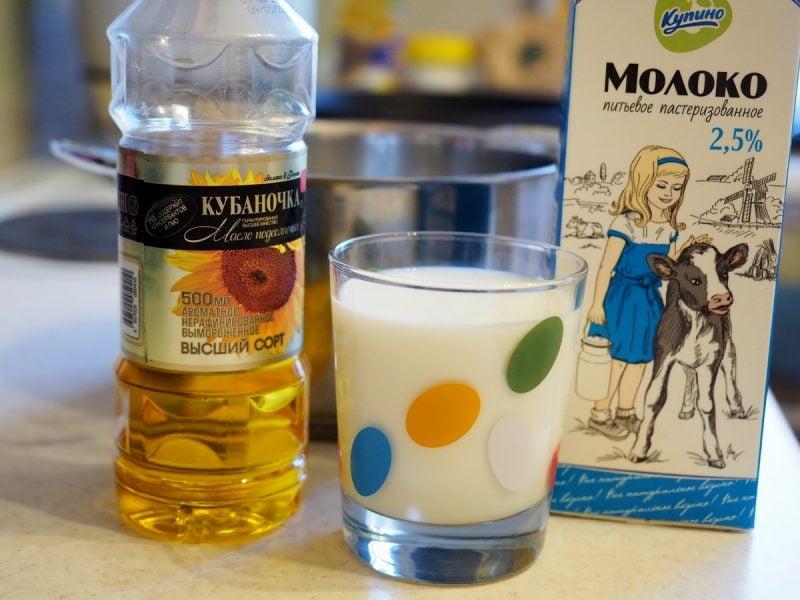 молоко для халвы