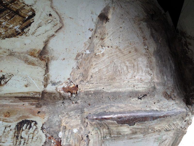 ржавчина на полу уаз, восстановление