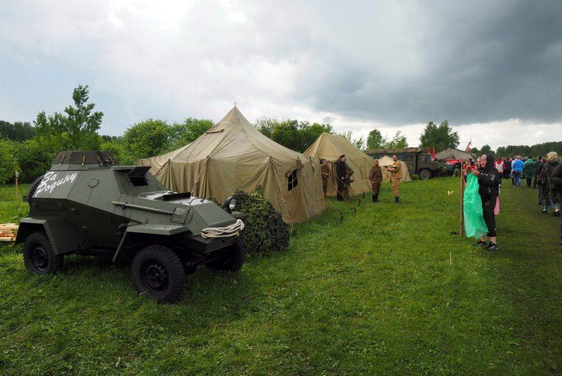 лагерь реконструкторов, новосибирск