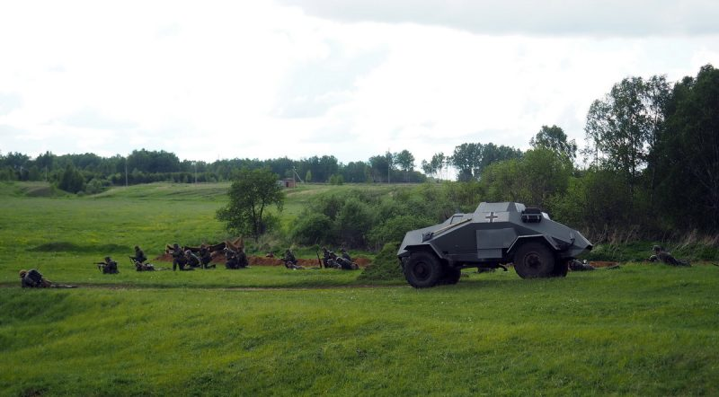 немецкий броневик