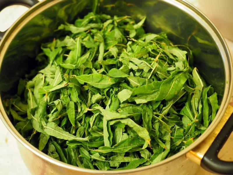 размятый кипрей, копорский чай