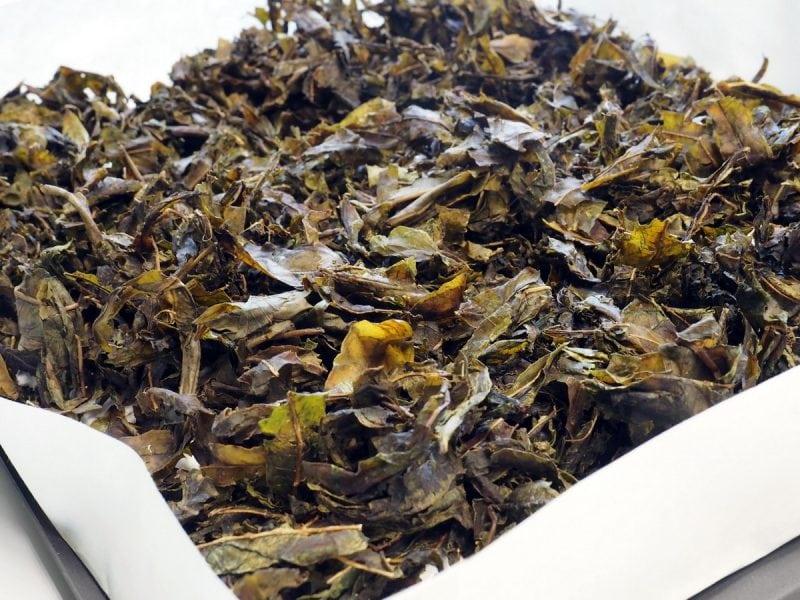 сушеный прожареный копорский чай