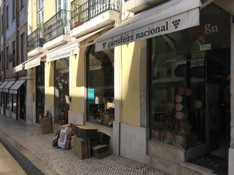 Garrafeira Nacional в лиссабоне купить портвейн