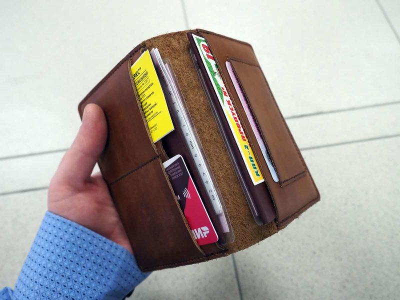 удобный бумажник для авто документов