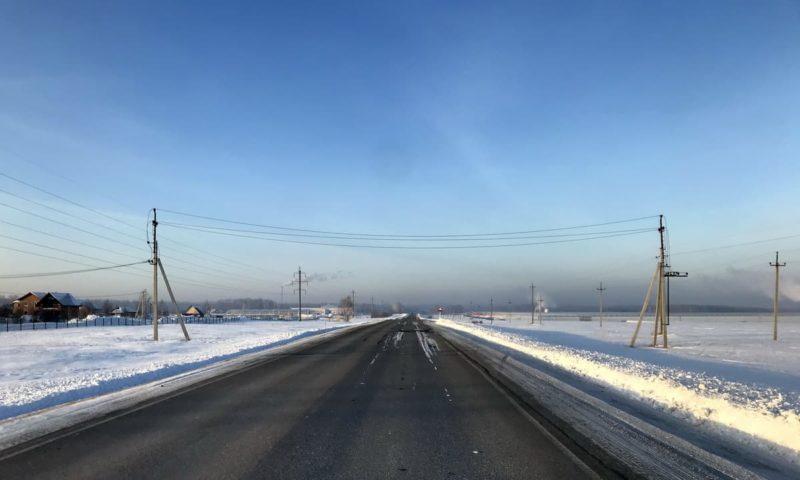 зимняя дорога, 2 категория сложности