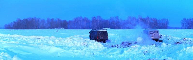 ночевка зимой в машине