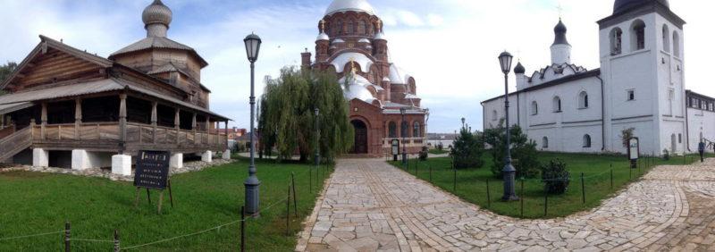 Свияжск, городская панорама