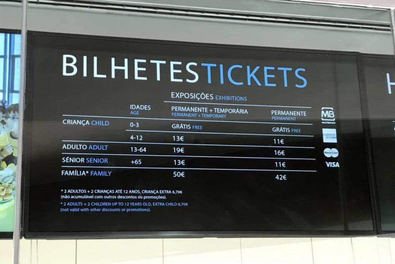 океанариум лиссабон цена билета