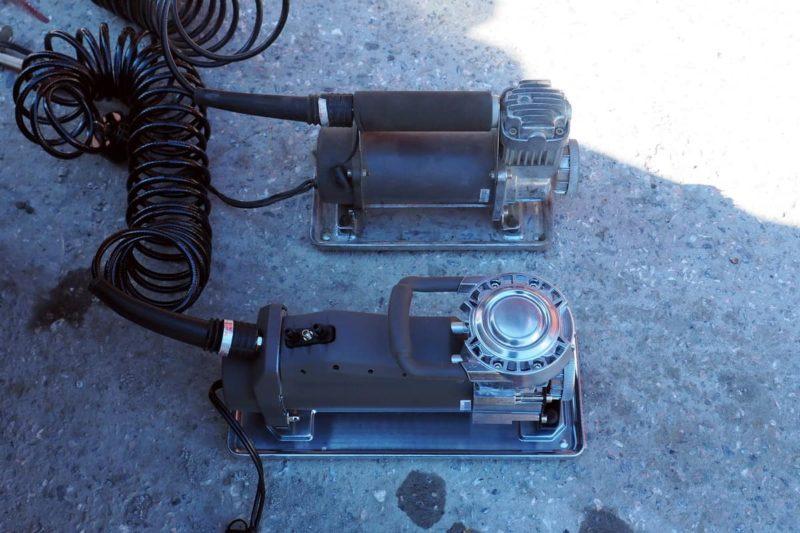 компрессоры Berkut R20 и R24 сравнение размеров