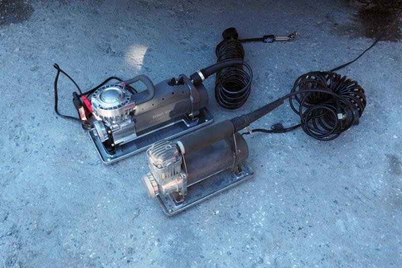 компрессоры Berkut R20 и R24 сравнение габаритов