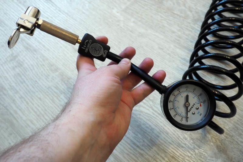 манометр компрессора Berkut